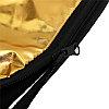 Фото отражатель 90 × 120 см 5 в 1 - золото, серебро, белый, чёрный, рассеиватель, фото 5