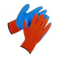 Зимние перчатки с латексным покрытием