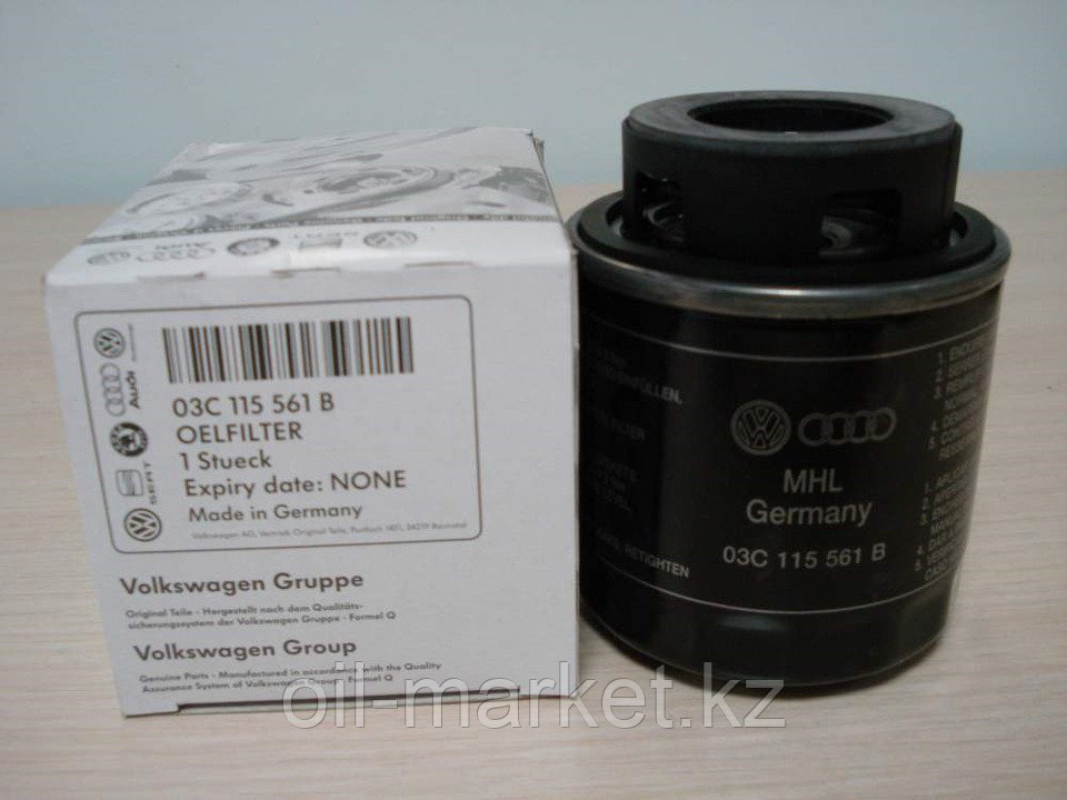Масляный фильтр Volkswagen Polo 2009; Scirocco; Tiguan; Beetle
