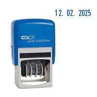 """Мини-датер COLOP """"S120 Bank""""автоматический, 3,8 мм, месяц цифрами"""
