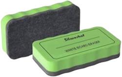 Губка магнитная для маркерных досок Silwerhof 107 x 57  мм.