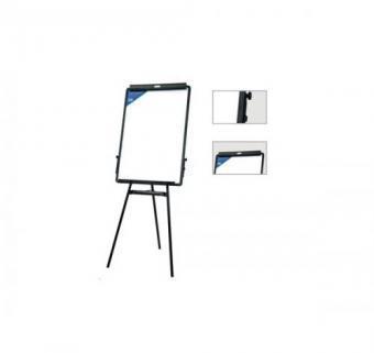 Доска-флипчарт DELI 60 x 90 см, магнитно-маркерная, на треноге