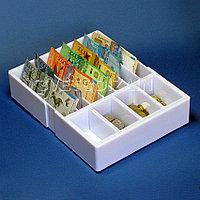 Лоток для монет и купюр 4+7 (20*26*5,5)