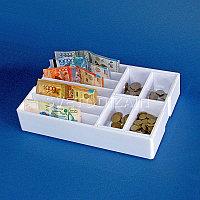 Лоток для монет и купюр 4+7 (28*20*5,5)