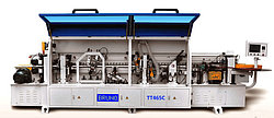 Кромко-облицовочный станок BRUNO TT-465A с раундером