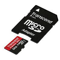 Transcend TS64GUSDU1,  microSDHC 64GB Class 10 UHS-I (Premium) SD adapter