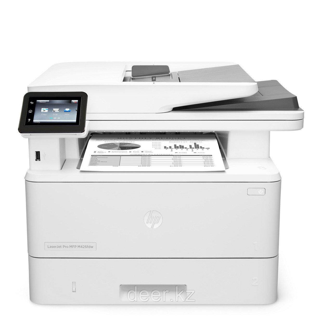МФУ HP LaserJet Pro MFP M426fdw F6W15A, USB, WiFi