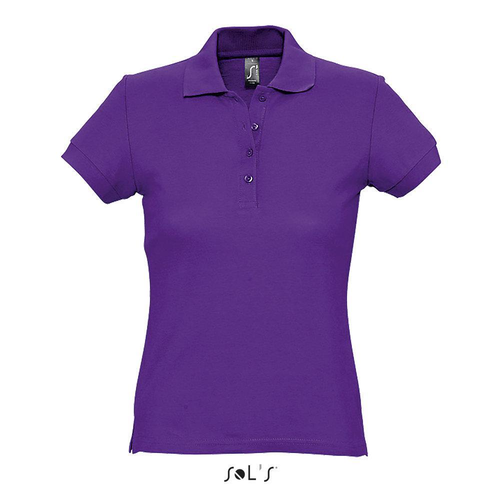 Рубашка Поло женская | Sols Passion M Фиол.