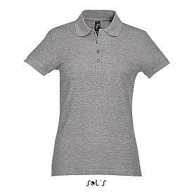 Рубашка Поло женская | Sols Passion S Серый.