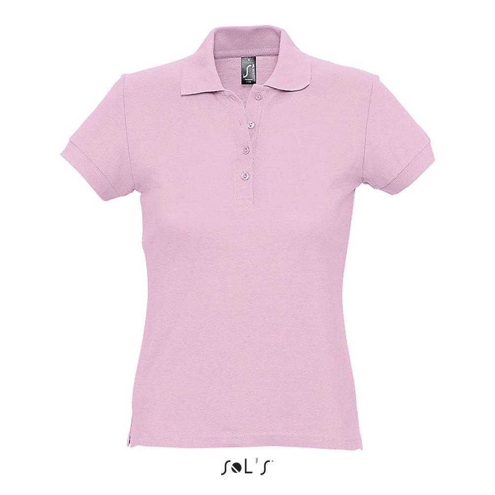 Рубашка Поло женская | Sols Passion M Розовый.