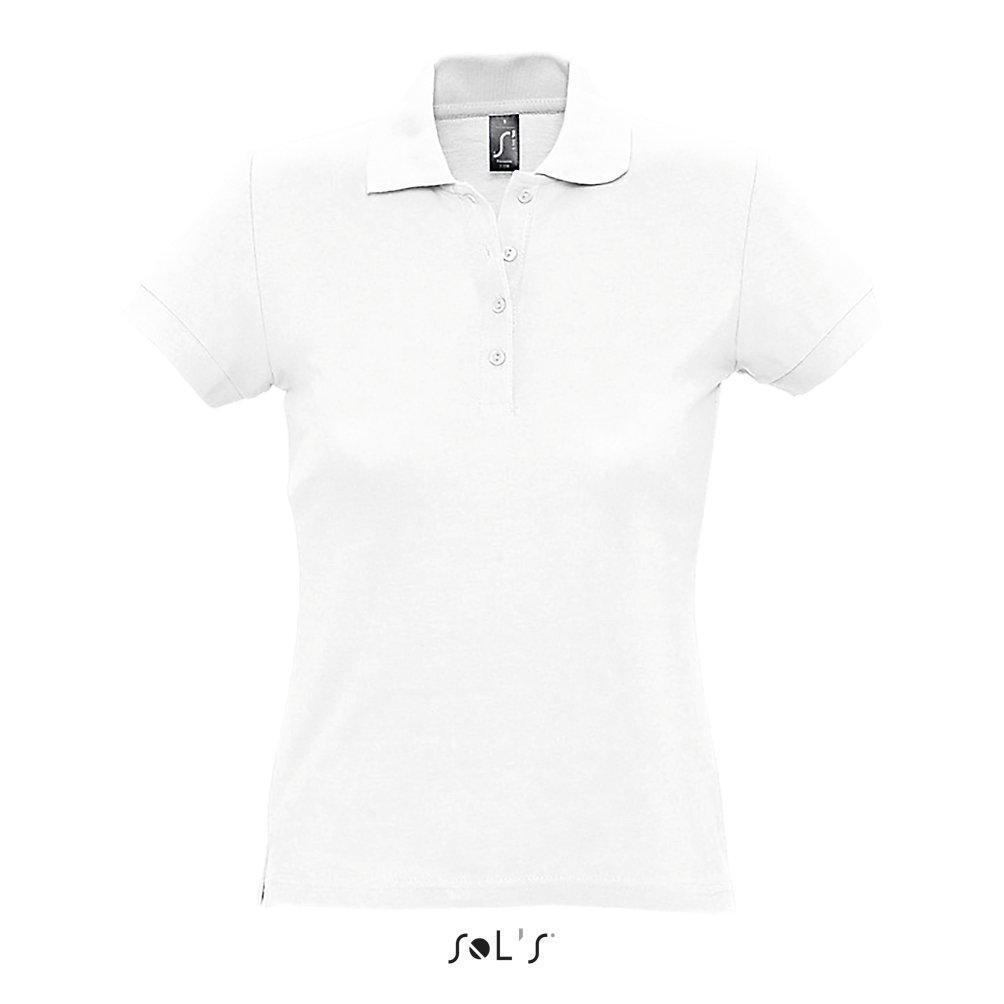 Рубашка Поло женская | Sols Passion S Белый.