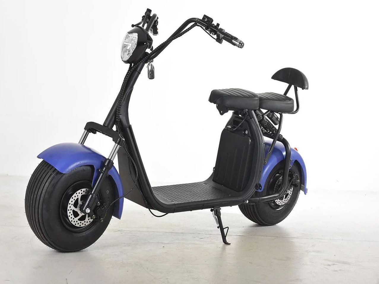 Электроскутер Citycoco Harley Pro 2 (H8PX) 1200W