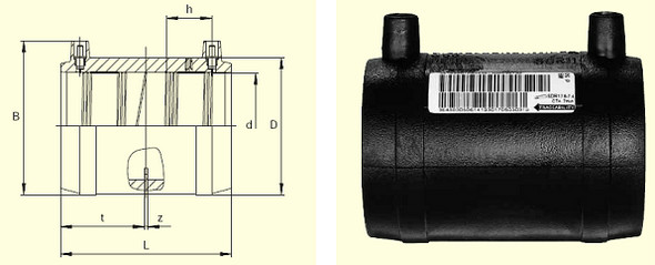 Муфта MB d140