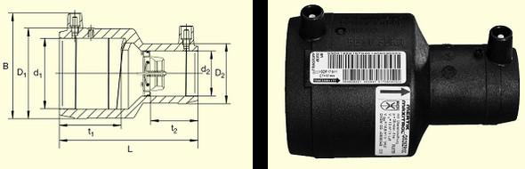 Муфта MR-STOPP d63/32 Typ Z