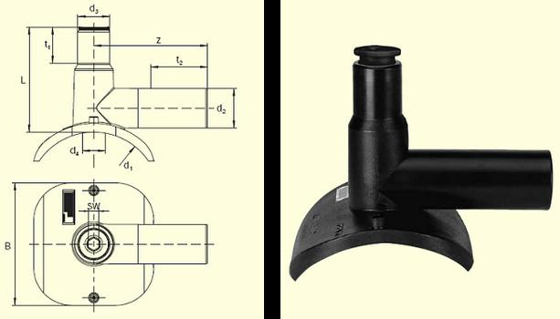 Электросварные фитигни DAA (Kit) d90/32, фото 2