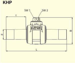 Электросварные фитигни KHP d110, фото 2