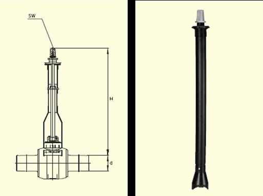 Электросварные фитигни BS d32-50/0,45-0,7