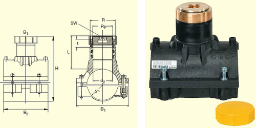 Электросварные фитигни SPA d110, фото 2