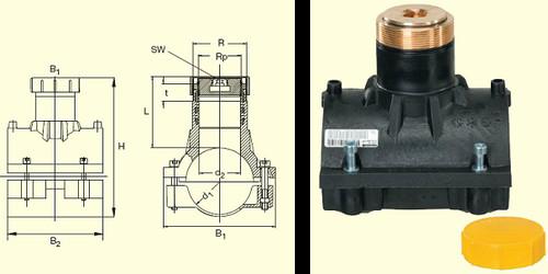 Электросварные фитигни SPAB d110