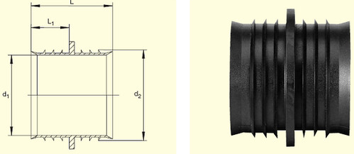 Электросварные фитигни RW d50, фото 2