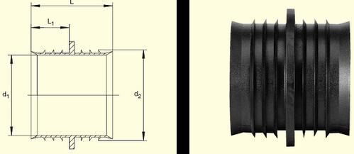 Электросварные фитигни RW d63, фото 2