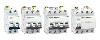 Автоматические выключатели с характеристикой D (Schneider Electric, Eaton)