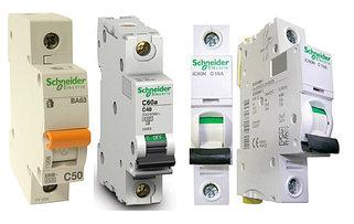 Автоматические выключатели с характеристикой В (Schneider Electric)