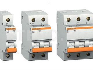 Автоматические выключатели трехполюсные на DIN-рейку