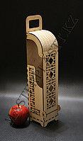 Коробка под вино №1, Алматы. Подарочная коробка, пенал для вина, фото 1