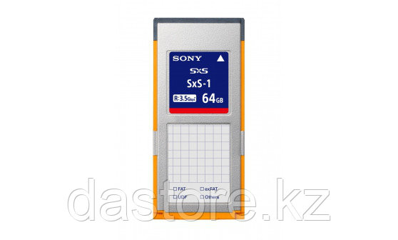 Sony SBS-64G1A флеш карта SBS (SXS) на 64 гб.