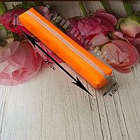 Школьный пенал мини оранжевый