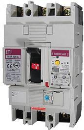 Автоматические выключатели, УЗО, дифф. автоматы (ETI)