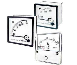Щитовые амперметры и частотомеры переменного тока