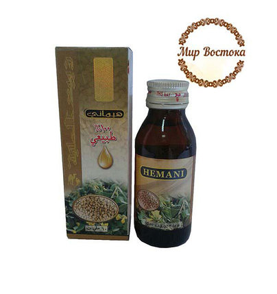 Масло хильбы, хельбы, пажитника Hemani (60 мл), фото 2