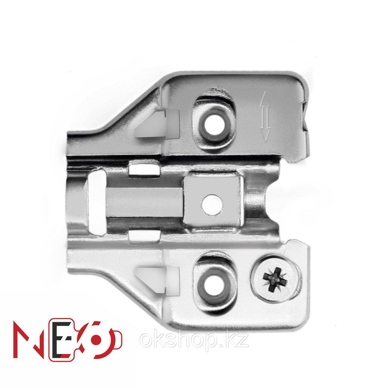 Ответная планка к мебельным петлям NEO с эксцентриком