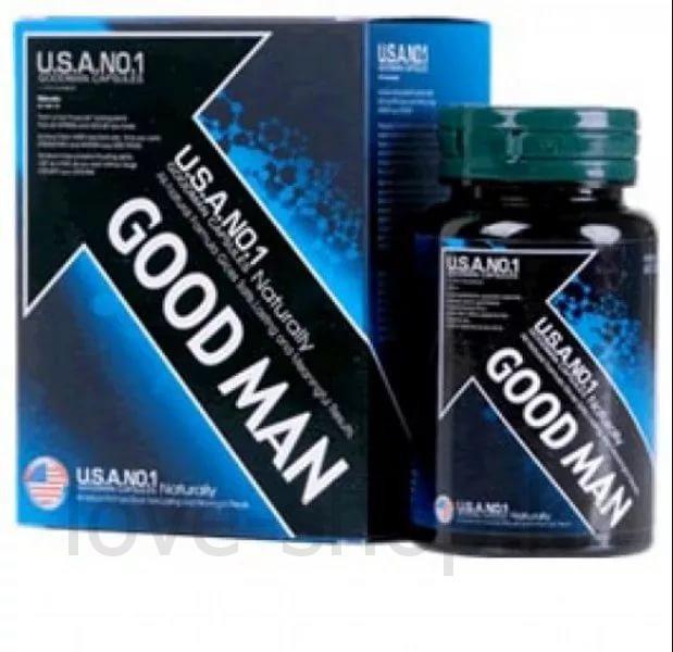 Good Man Penis USA NO 1 ( 60 капсул ) Самец - Препарат для повышения потенции