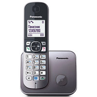 Panasonic KX-TG6811RUM аналоговый телефон (KX-TG6811RUM)