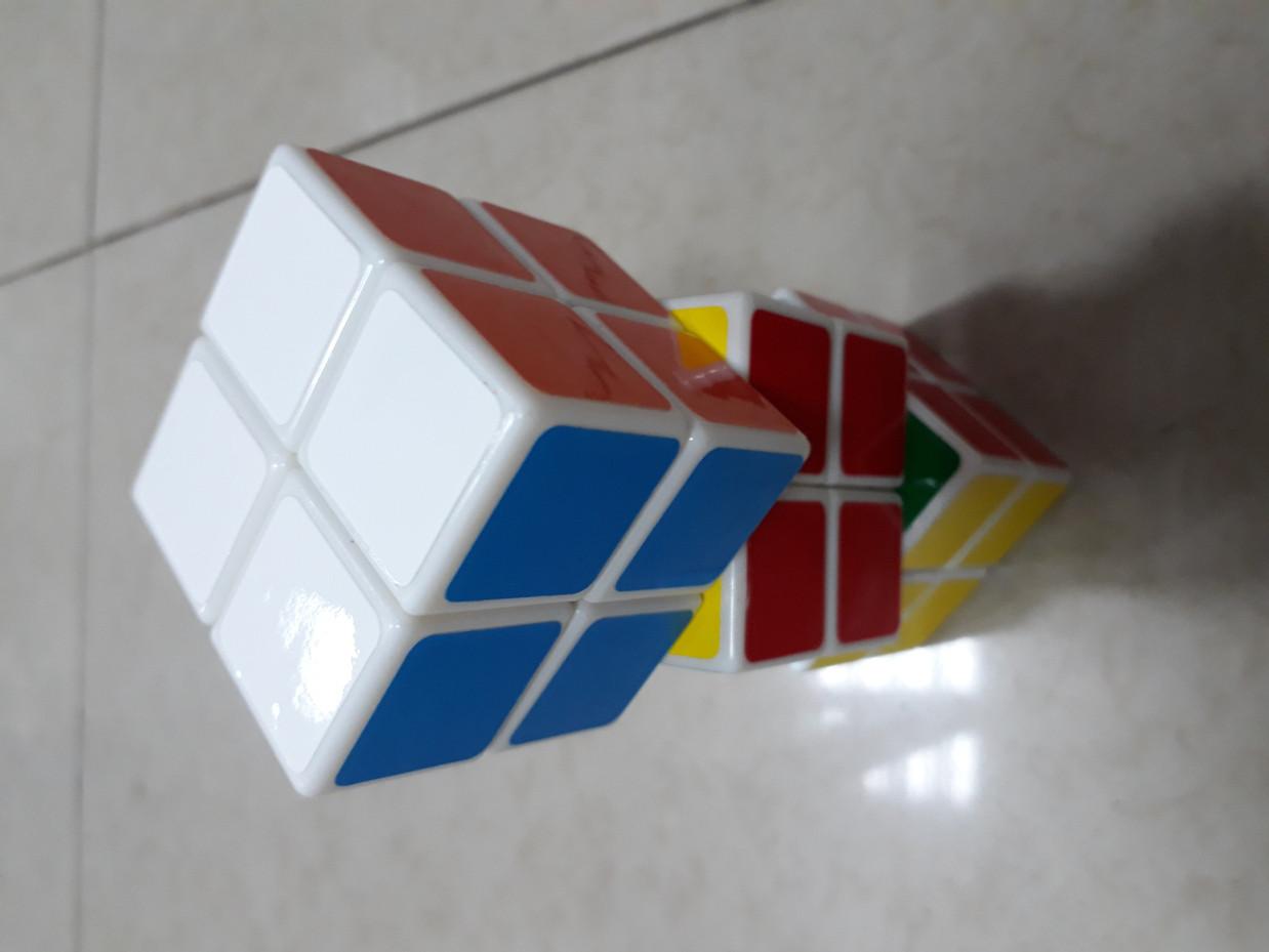 Кубик Рубика 2x2x2 - классная головоломка