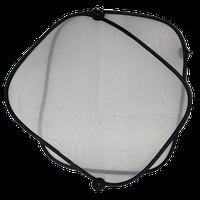 Автомобильный зонтик-шторка для окон с присосками (2 штуки) (40*45см)