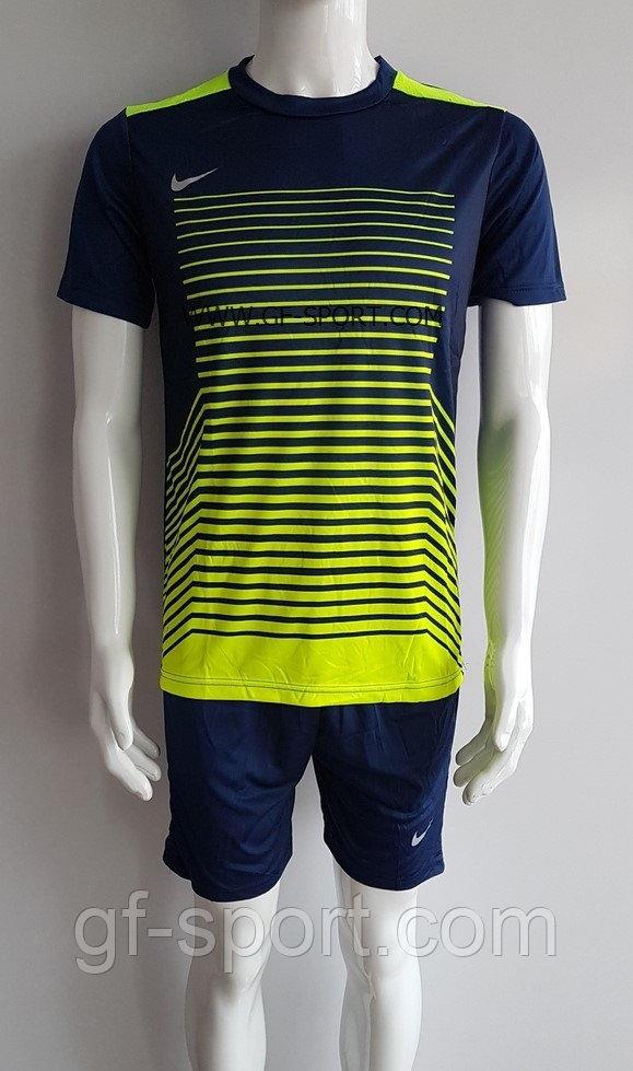 Форма футбольная Nike (голубая)