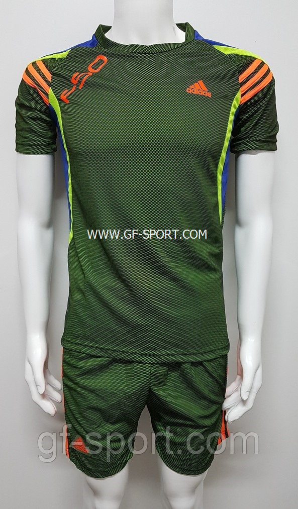 Форма футбольная Adidas (зеленая)