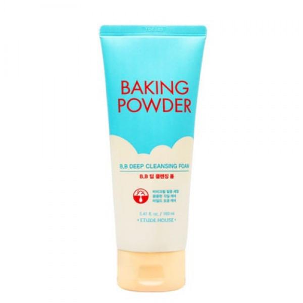 Etude House Baking Powder BB Deep Cleansing Foam Пенка с усиленным эффектом очищения лица 150 мл.