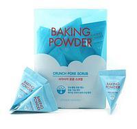 Etude House Baking Powder Crunch Pore Scrub Скраб для очищения пор с содой 7гр.