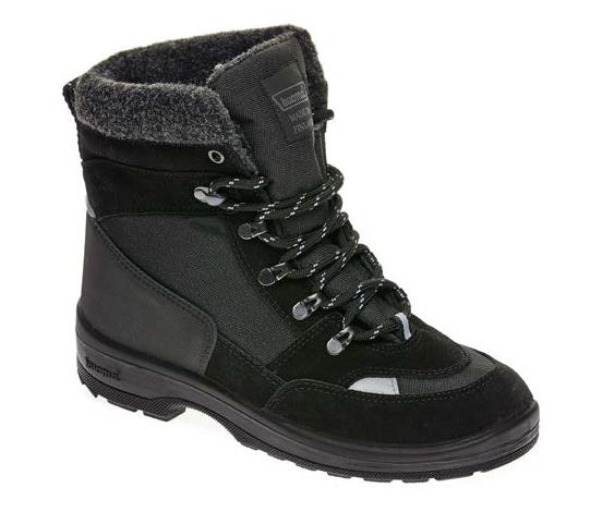 Обувь взрослая Tuisku, Black/Black - 42