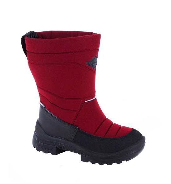 Обувь детская Putkivarsi wool, Bordeaux  - 25