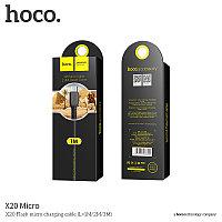 Usb HOCO x20 Micro 1m Black