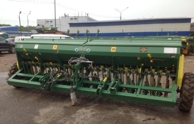 Сеялка зерновая Турция BOZKURT 46 рядов 125 мм