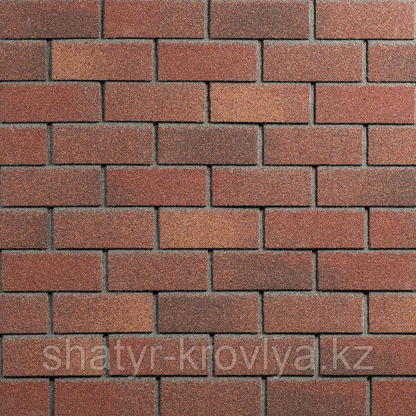 Фасадная плитка Hauberk Цвет Терракотовый кирпич