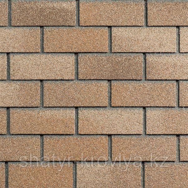 Фасадная плитка Hauberk Цвет Песчаный кирпич
