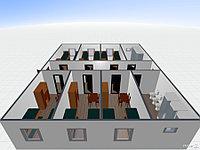 Жилые здания общежития из 20 или 40 футовых контейнеров, фото 1